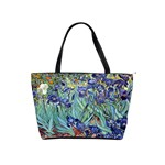 Irises by Vincent van Gogh 1898 Classic Shoulder Handbag