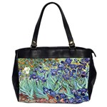 Irises by Vincent van Gogh 1898 Oversize Office Handbag (Two Sides)