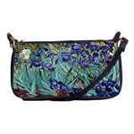 Irises by Vincent van Gogh 1898 Shoulder Clutch Bag