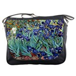 Irises by Vincent van Gogh 1898 Messenger Bag