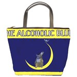 Alcoholic Blues Bucket Bag