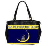 Alcoholic Blues Oversize Office Handbag (Two Sides)