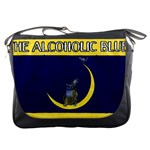 Alcoholic Blues Messenger Bag