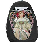 F. Champenois Imprimeur-éditeur by Alfons Mucha 1897 Backpack Bag
