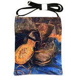 A Pair Of Shoes By Vincent Van Gogh 1887 Shoulder Sling Bag