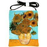 Vase With Twelve Sunflowers By Vincent Van Gogh 1889 Shoulder Sling Bag