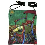 Paul Gauguin s Armchair By Vincent Van Gogh 1888  Shoulder Sling Bag