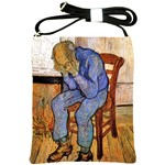 Old Man In Sorrow By Vincent Van Gogh 1890 Shoulder Sling Bag
