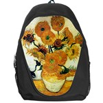 Vase With Fifteen Sunflowers By Vincent Van Gogh 1889 Backpack Bag