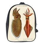 1913 Sepia Und Octopus School Bag (XL)