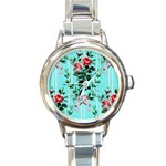 1906 Sears Wallpaper  Round Italian Charm Watch