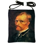 Self Portrait By Vincent Van Gogh 1886 Shoulder Sling Bag