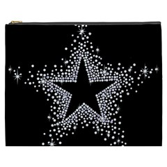 Sparkling Bling Star Cluster Cosmetic Bag (xxxl) by artattack4all