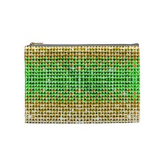 Diamond Cluster Color Bling Medium Makeup Purse by artattack4all