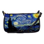 Starry Night By Vincent Van Gogh 1889 Shoulder Clutch Bag