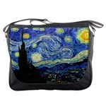 Starry Night By Vincent Van Gogh 1889 Messenger Bag