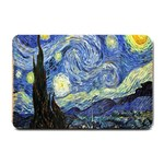 Starry Night By Vincent Van Gogh 1889 Small Doormat