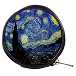 Starry Night By Vincent Van Gogh 1889 Mini Makeup Bag