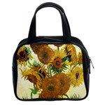 Vase With Fifteen Sunflowers By Vincent Van Gogh 1888 Classic Handbag (Two Sides)