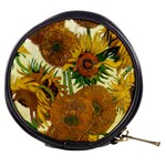 Vase With Fifteen Sunflowers By Vincent Van Gogh 1888 Mini Makeup Bag