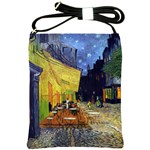 Cafe Terrace At Night By Vincent Van Gogh 1888  Shoulder Sling Bag