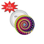 Fractal34 1.75  Button (10 pack)
