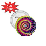 Fractal34 1.75  Button (100 pack)