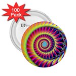 Fractal34 2.25  Button (100 pack)