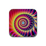 Fractal34 Rubber Coaster (Square)