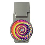 Fractal34 Money Clip (Round)