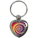 Fractal34 Key Chain (Heart)