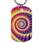 Fractal34 Dog Tag (One Side)