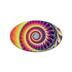 Fractal34 Sticker Oval (100 pack)