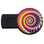 Fractal34 USB Flash Drive Round (1 GB)