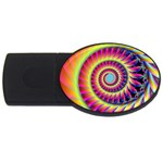 Fractal34 USB Flash Drive Oval (2 GB)