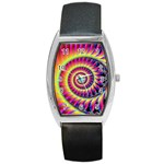 Fractal34 Barrel Style Metal Watch
