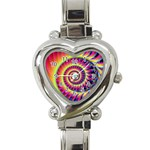 Fractal34 Heart Italian Charm Watch
