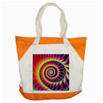Fractal34 Accent Tote Bag