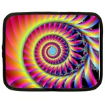 Fractal34 Netbook Case (Large)