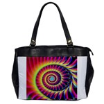 Fractal34 Oversize Office Handbag (One Side)