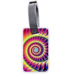 Fractal34 Luggage Tag (one side)