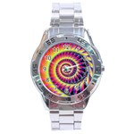 Fractal34 Stainless Steel Analogue Men's Watch