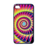 Fractal34 Apple iPhone 4 Case (Black)