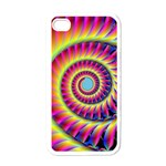Fractal34 Apple iPhone 4 Case (White)