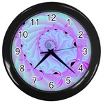 Fractal34 Wall Clock (Black)