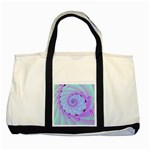 Fractal34 Two Tone Tote Bag