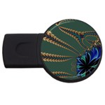 Fractal34 USB Flash Drive Round (2 GB)