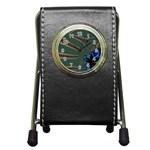 Fractal34 Pen Holder Desk Clock