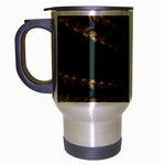 Fractal34 Travel Mug (Silver Gray)