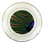 Fractal34 Porcelain Plate